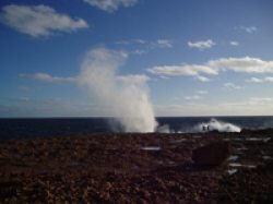Carnarvon Blowholes in all their glory